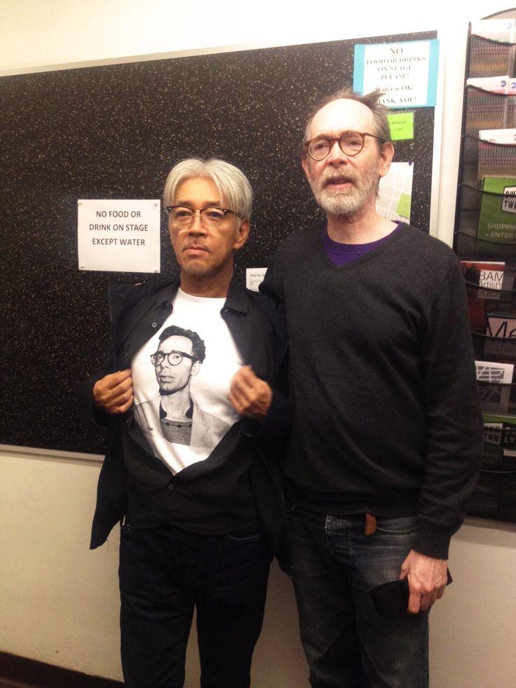 Ryuichi Sakamoto and Arto Lindsay