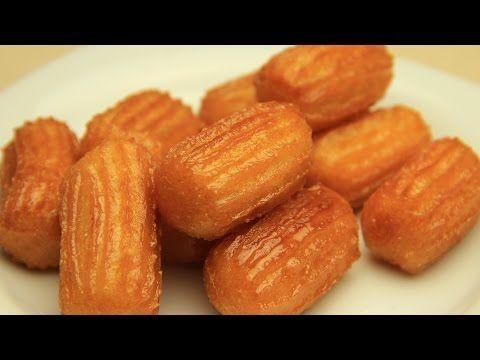 Türkisch Tulumba Rezept - Spritzgebäck in Zuckersirup - YouTube