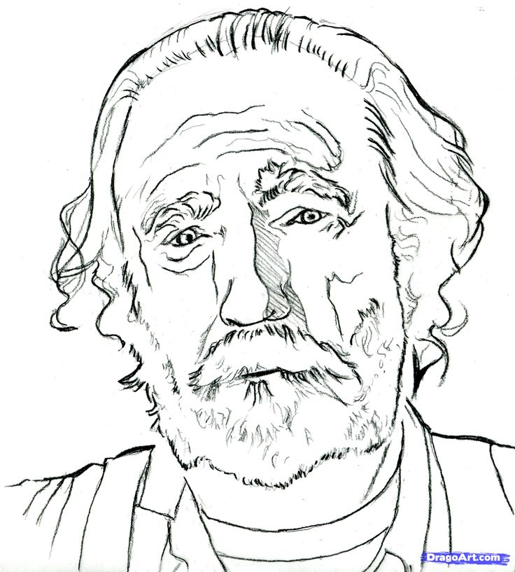 easy to draw the walking dead how to draw hershel greene