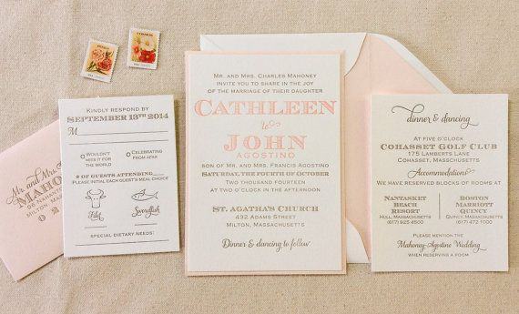 The Laurel Suite  Whimsical Modern Letterpress by DinglewoodDesign