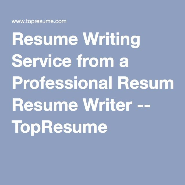 Reasons to Hire a Professional Resume Writer   Salary com aploon