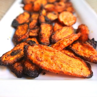 Zero Calorie Red Roasted Carrots