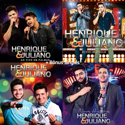 Discografia Henrique e Juliano (2012-2016) - https://bemsertanejo.com/discografia-henrique-e-juliano-2012-2016/