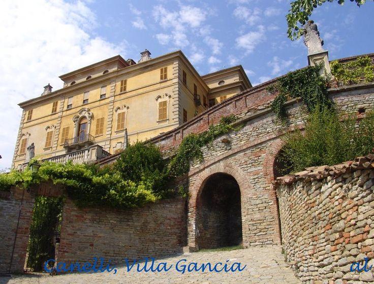Canelli, Villa Gancia