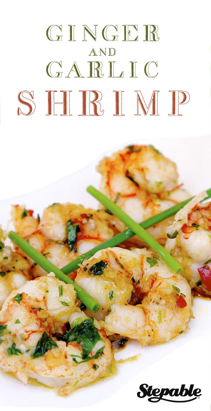 Give the right zing to your shrimp with these Asian-inspired flavors @Stepable #recipes #seafood