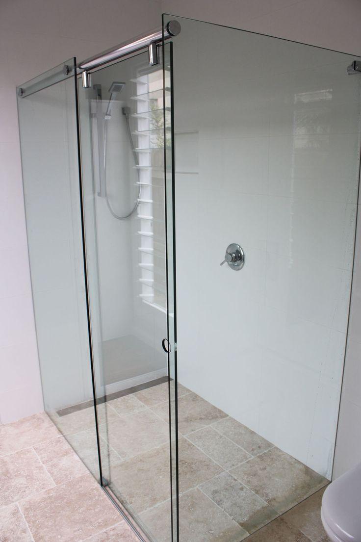 White Bathroom Co Willoughby shower screens - vanites- mirrors- glass - frameless sliding showers