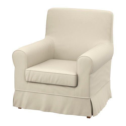 EKTORP Armchair cover - Ramna beige - IKEA