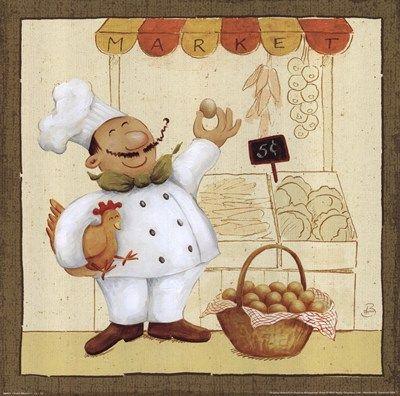 Chef's Market I by Daphne Brissonet