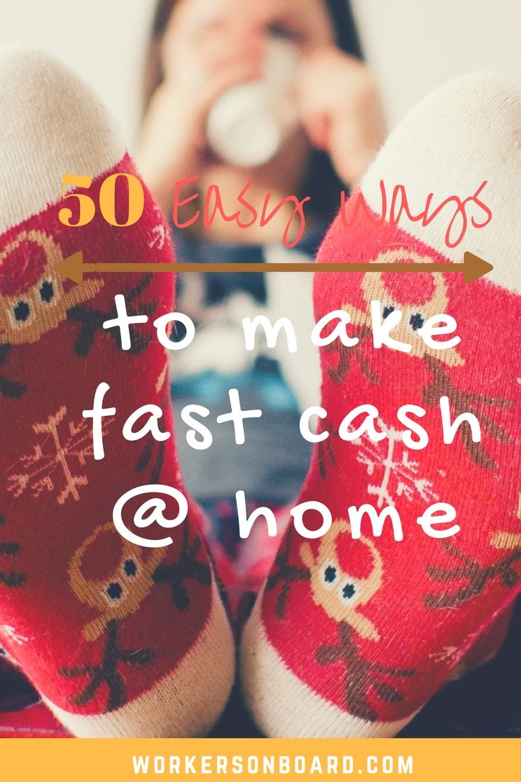 how to make extra cash fast uk