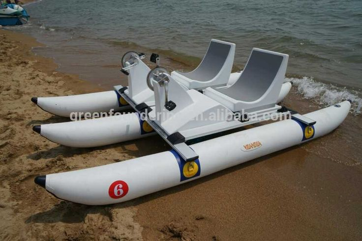Pontoons for kayaks pvc pontoon for diy boat inflatable for Fishing pedal boat