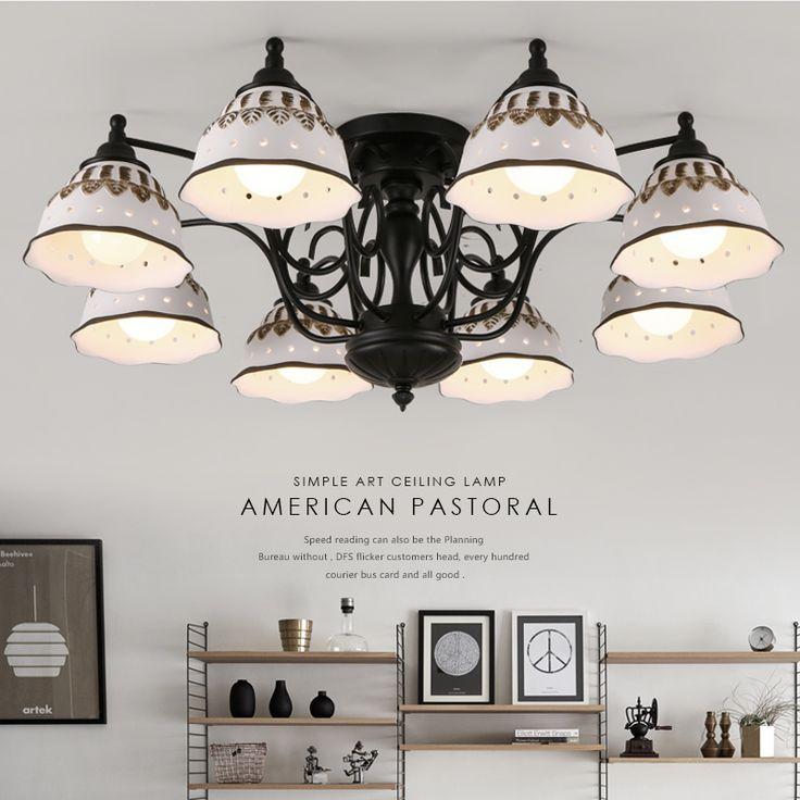 Modern LED Chandelier Ceiling Fixtures Luminarias Lustres Chandeliers Lamp For Bedrooms Living Room Kitchen Lighting