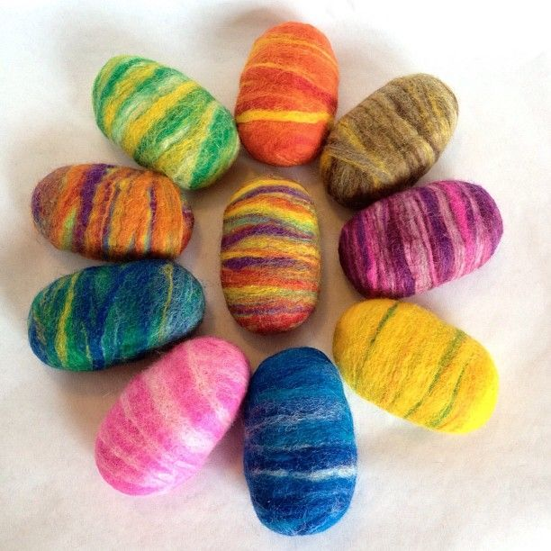 Felted Soaps make great stocking stuffers! They are available on Etsy: http://thetwistedpurl.etsy.com Using Felted Soap is good clean fun!!!