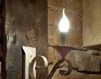 Project LIGHTING - Wall lamps by Fedja Papric, via Behance