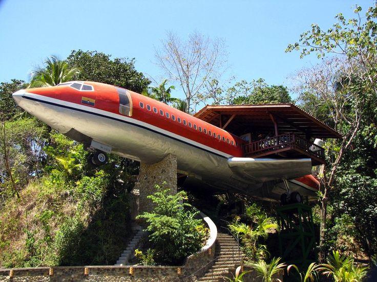 727 Fuselage Home - Hotel Costa Verde - Hôtel insolite - Unique Hotel Experience