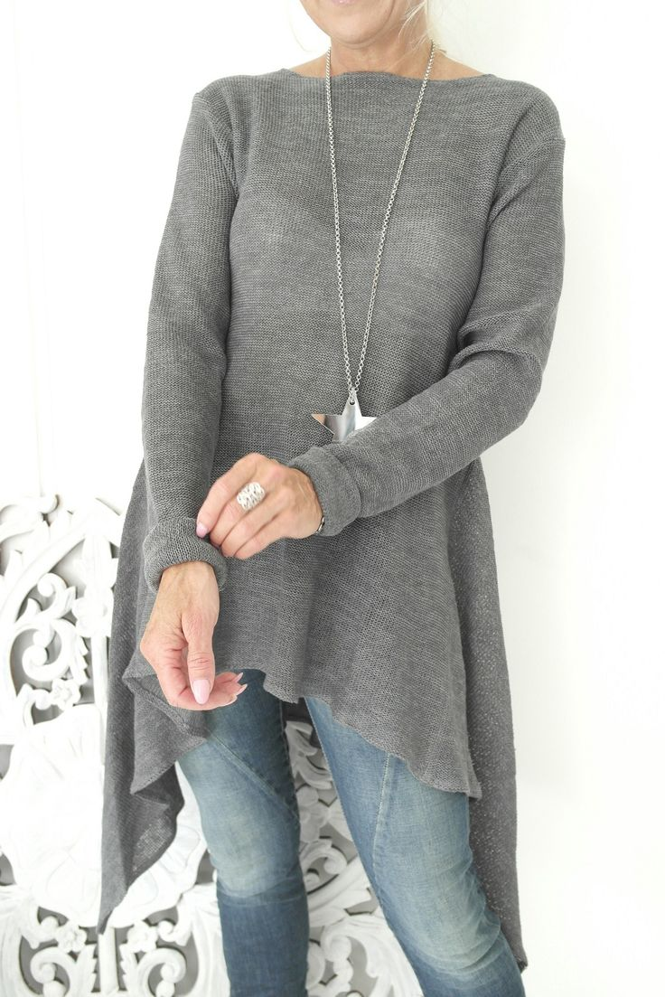 BYPIAS Handknitted linen tunic/Amalfi Queen www.bypias.com