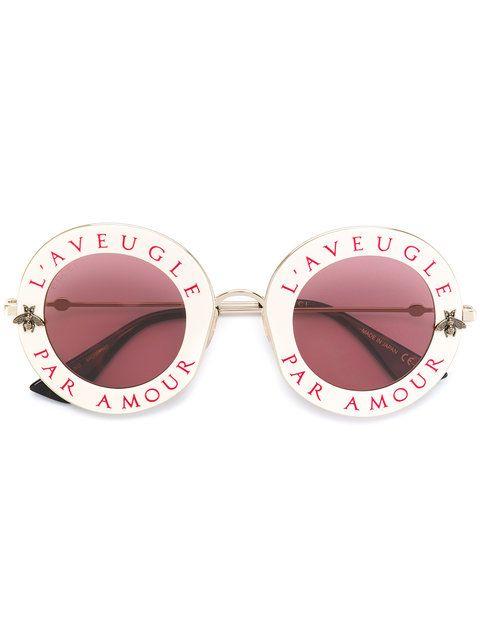 000aa3fe678da3 Gucci Eyewear Солнцезащитные Очки в Круглой Оправе   Gucci eyewear ...