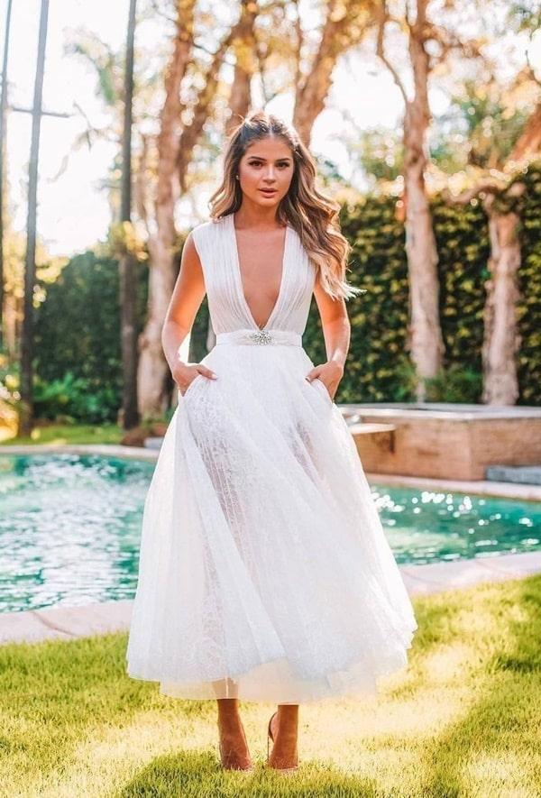 Vestidos de noiva para casamento civil - Projeto Noivinha | Por Jéssica Moraes | Vestido de noiva simples, Vestidos, Vestido de noiva civil