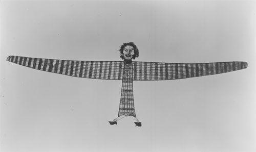 Birdman kite, 1890