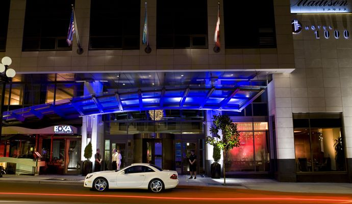 Hotel 1000 in Seattle. Received the 2012 Travel + Leisure's T+L 500 World's Best Hotels among many other accolades!