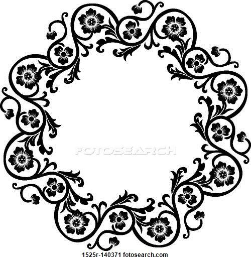 Decorative frame, vector illustration