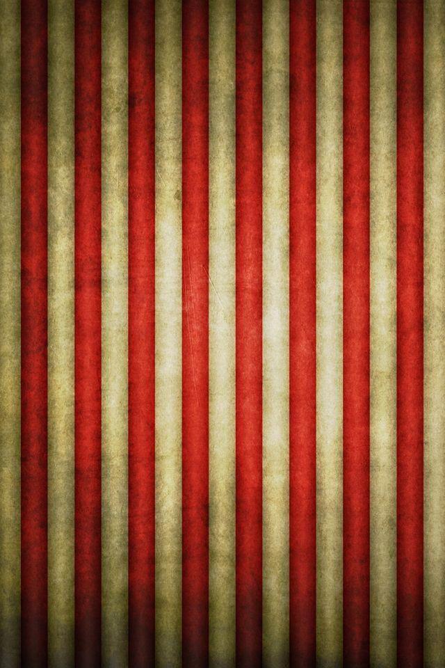 Vintage Flag Stripes Wallpaper Pattern