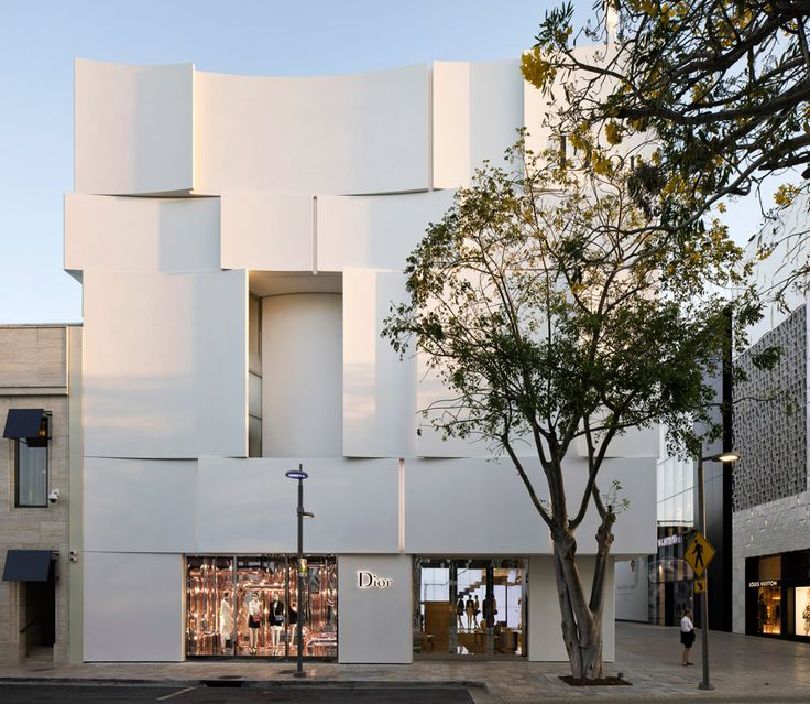 Dior's new flagship store is located in the Miami Design District