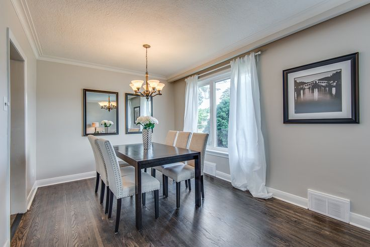 """This lovely Etobicoke home is located on a family friendly, beautiful tree-lined street and features 3 bedrooms and 2 baths.  There is a long private drive and single car garage with a private backyard space.    Approximately 1300 sq.ft. on each level, the home welcomes into a spacious foyer. """"Bloordale Gardens"""" is close to transit, highways, the airport, shopping malls, parks, walking trails and excellent schools. Listed at $699,000"""