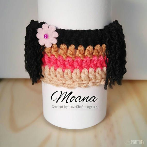 Check out this item in my Etsy shop https://www.etsy.com/listing/510692984/moana-coffee-cup-cozy-cup-cozy-crochet