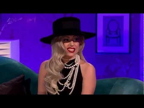 """Lady Gaga's Interview on Alan Carr: Chatty Man Series 7 Episode 4 (Nov. 21, 2011).    Lady Gaga's complete Alan Car: Chatty Man appearance in 720p:  1. Interview  http://www.youtube.com/watch?v=Hop65yMEHMI  2. """"Cooking with Gaga"""" Segment  http://www.youtube.com/watch?v=cNhF7s1guM0  3. """"Marry The Night"""" Acoustic Performanc..."""