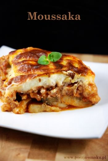 Musaka - Moussaka (recipe in Polish)