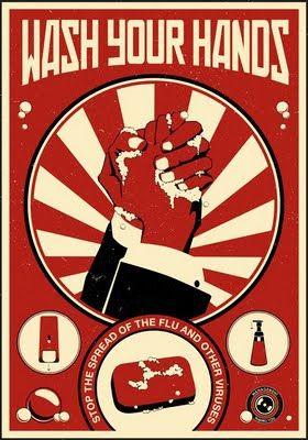Propagande moderne pour le bureau en affiches poster propagande moderne bureau 04