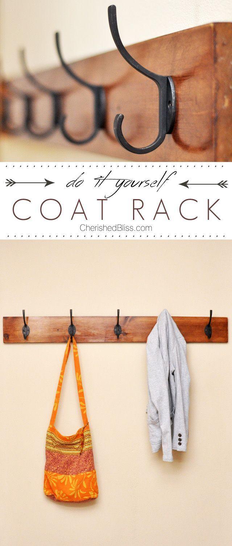 Diy Coat Rack Tutorial Projects Tips Amp Tricks Diy