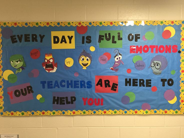 Inside Out Bulletine Board My Class Pinterest