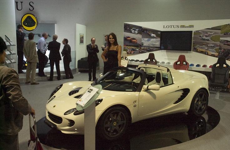 Lotus at the Francfort Motorshow 2009