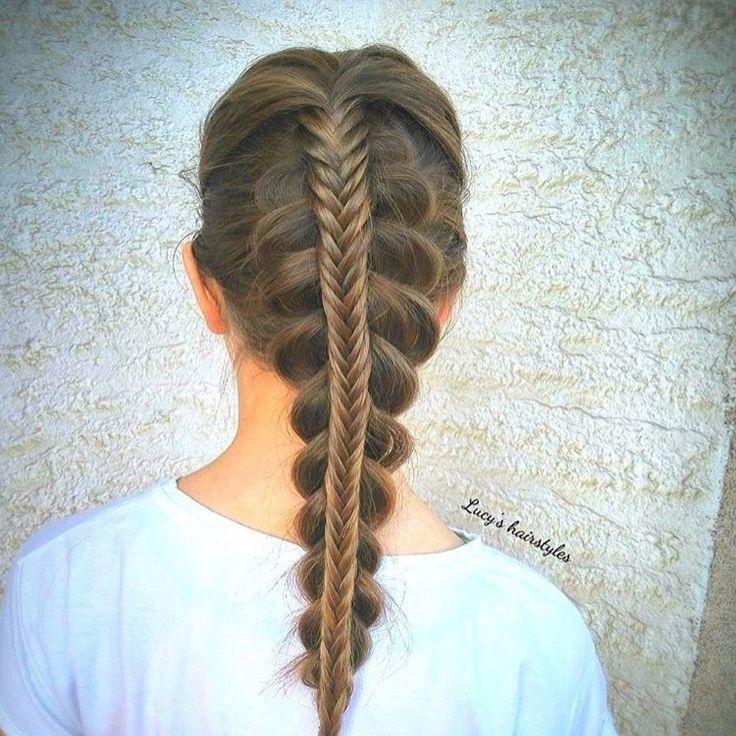 Wondrous 1000 Ideas About Braids For Little Girls On Pinterest Girls Short Hairstyles For Black Women Fulllsitofus