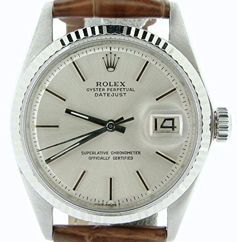 Men Rolex Stainless Steel/18K White Gold Datejust Watch Brown w/Silver Dial 1601 https://www.carrywatches.com/product/men-rolex-stainless-steel18k-white-gold-datejust-watch-brown-wsilver-dial-1601/ Men Rolex Stainless Steel/18K White Gold Datejust Watch Brown w/Silver Dial 1601  #rolexwatchesformen #whitewatchesformen