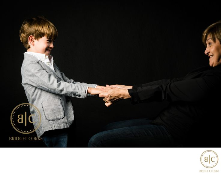 Bridget Corke Photography - Family Studio Shoot with Grandson: