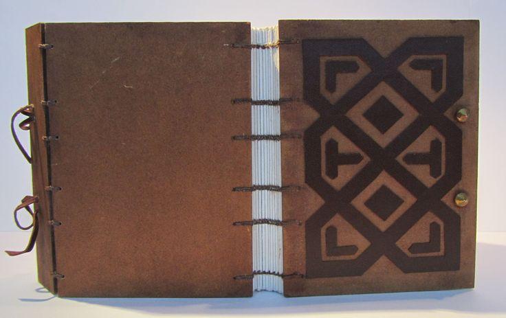 Cuaderno Copto en madera