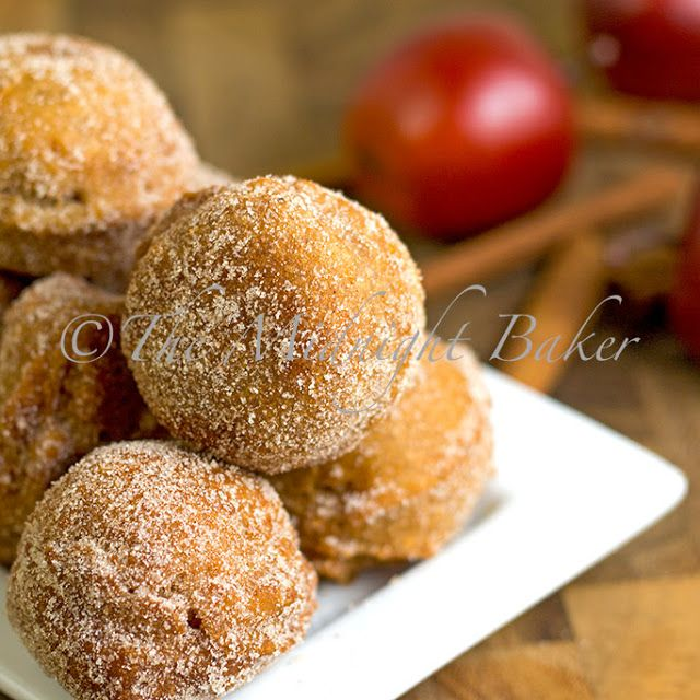 Easy Apple Cider Donuts by bakeatmidnite #Donuts #Apple_Cider