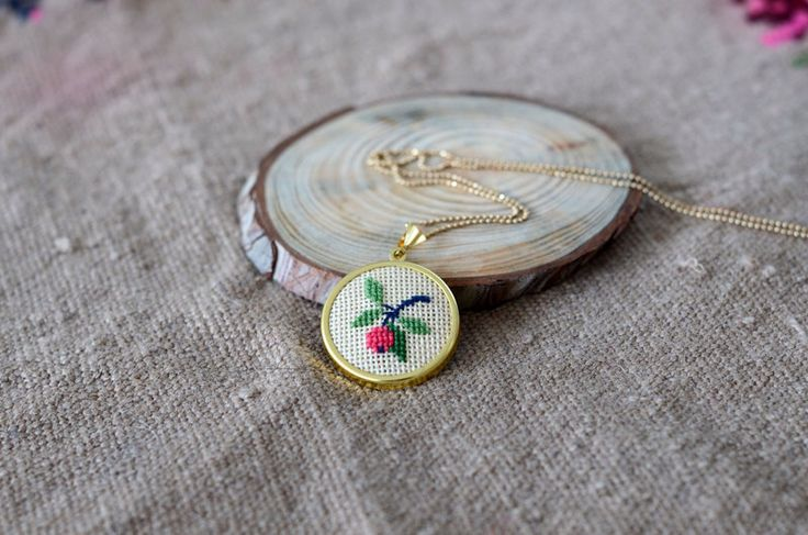 A personal favorite from my Etsy shop https://www.etsy.com/listing/222808282/apple-necklace
