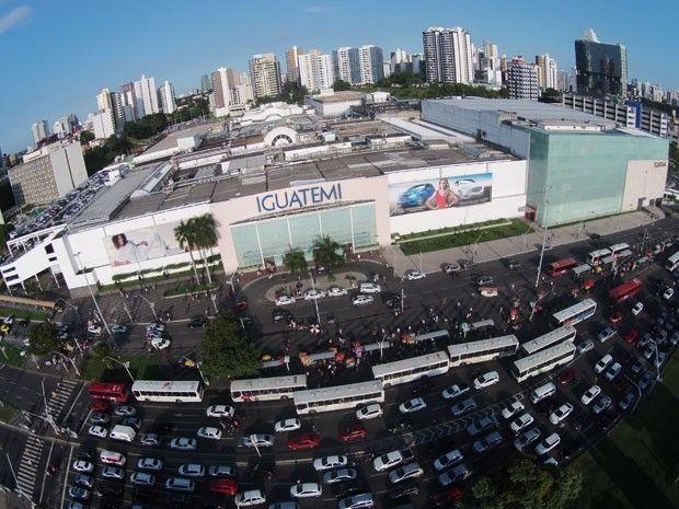 Fachada do Shopping Iguatemi, em Salvador (Foto:  Peu Acioly)