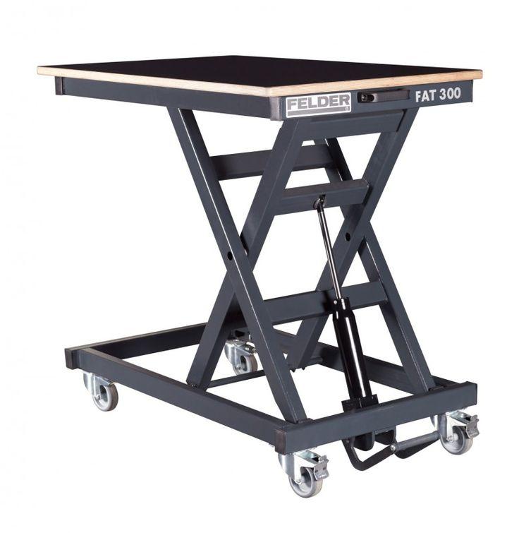Table l vatrice niveau felder fat 300 avec plateau de for Chaise elevatrice