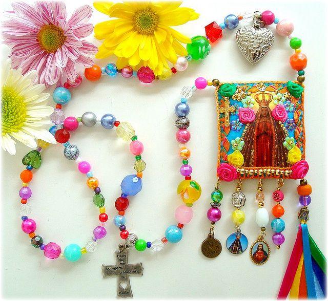 Viva Nossa Senhora Aparecida! by Lidia Luz, via Flickr