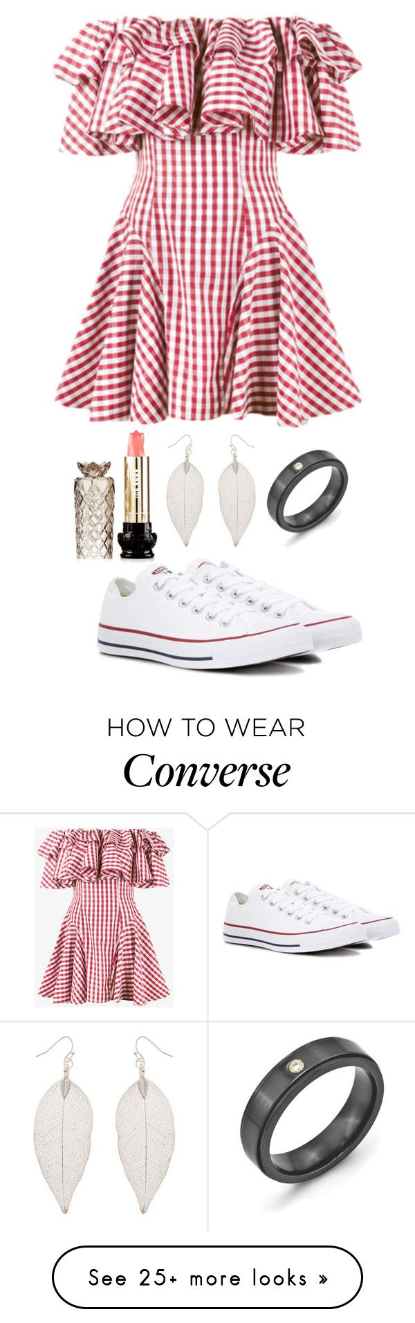"""Pick"" by puppydog28 on Polyvore featuring House of Holland, Accessorize, Kevin Jewelers, Converse and Anna Sui"