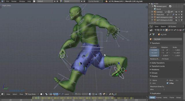 تحميل برنامج إنشاء الصور المتحركة ثلاثية الابعاد Blender Animation Programs 3d Animation Animation Company