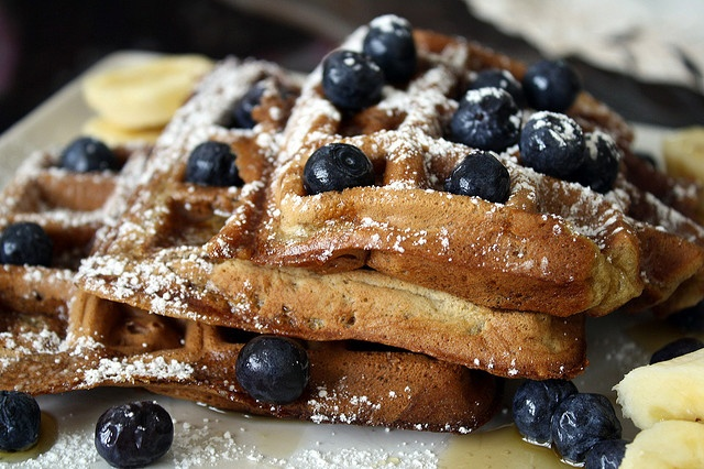 Banana-Nut Waffles from Veganomicon | Vegan Sweeties | Pinterest