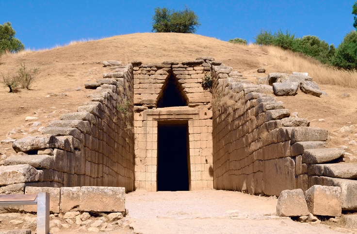 Agamemnon's Tomb in Mycenae (1 & 1/2 hours away from Athens).