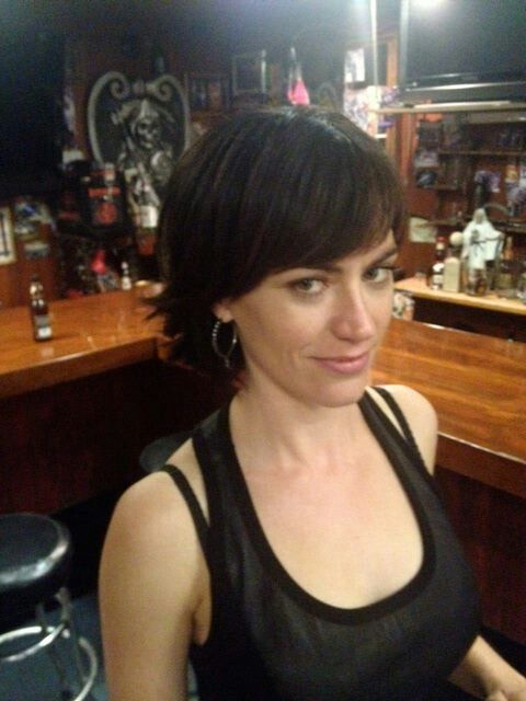 手机壳定制air air force one Maggie Siff aka Tara Knowles Sons of Anarchy