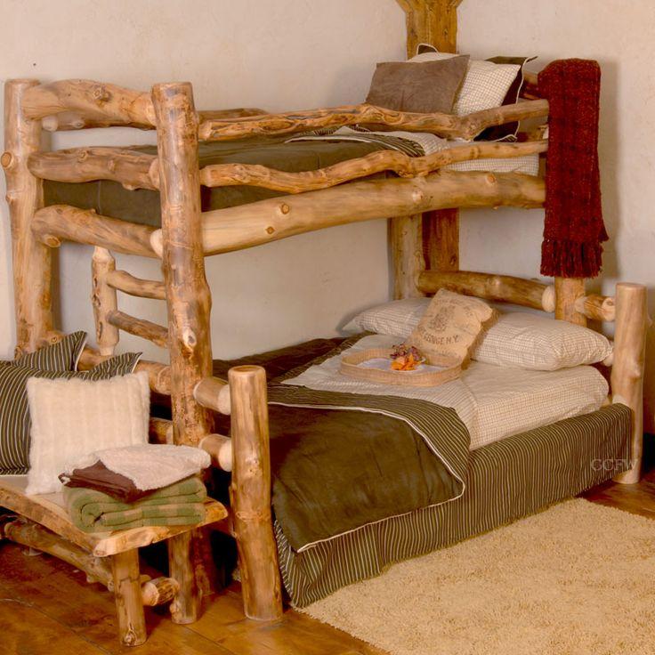 17 Best Images About Log Beds On Pinterest Furniture
