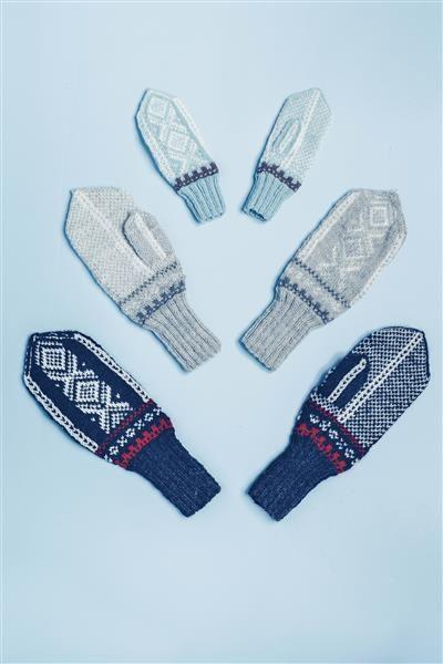 Tema 42: Modell 20a og b Marius votter #strikk #knit #marius
